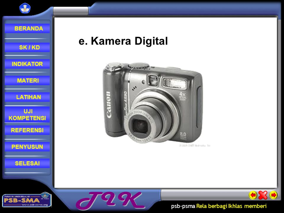 e. Kamera Digital