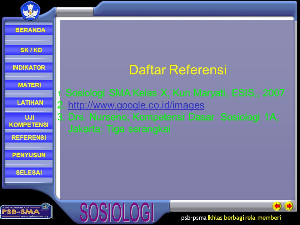 Daftar Referensi : 2. http://www.google.co.id/images