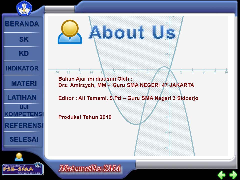 About Us Bahan Ajar ini disusun Oleh :
