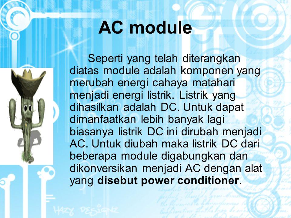 AC module