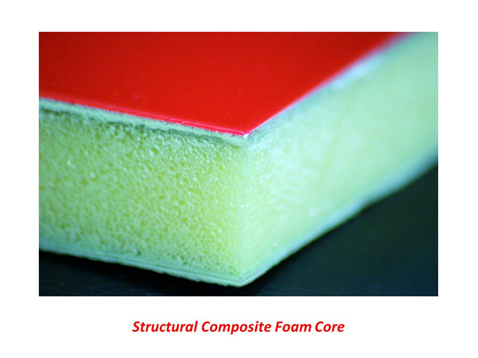 Structural Composite Foam Core
