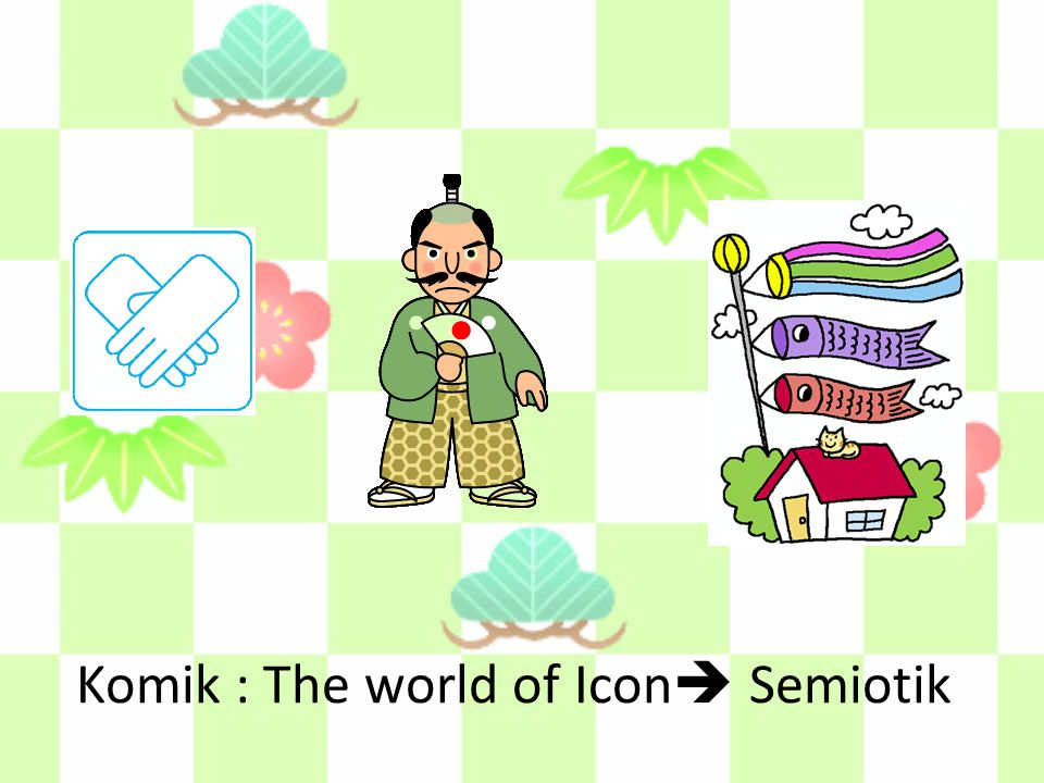 Komik : The world of Icon Semiotik