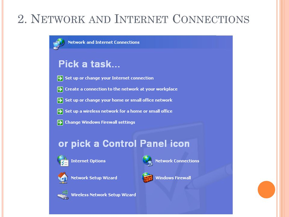 2. Network and Internet Connections