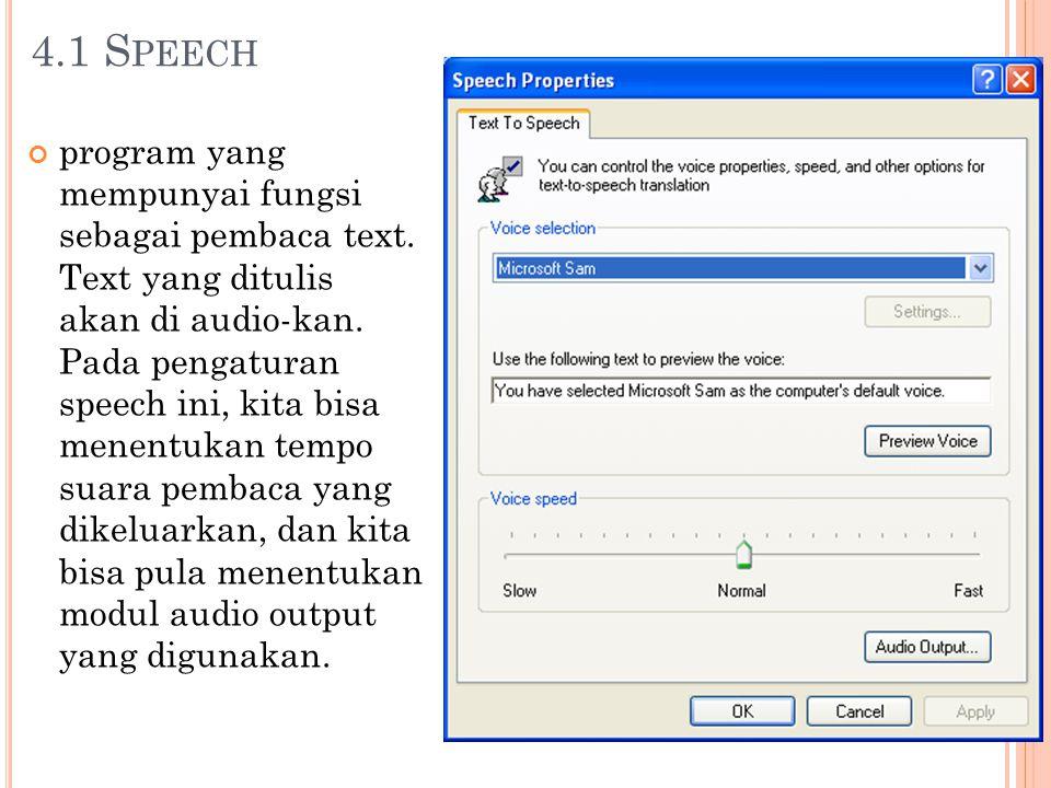 4.1 Speech