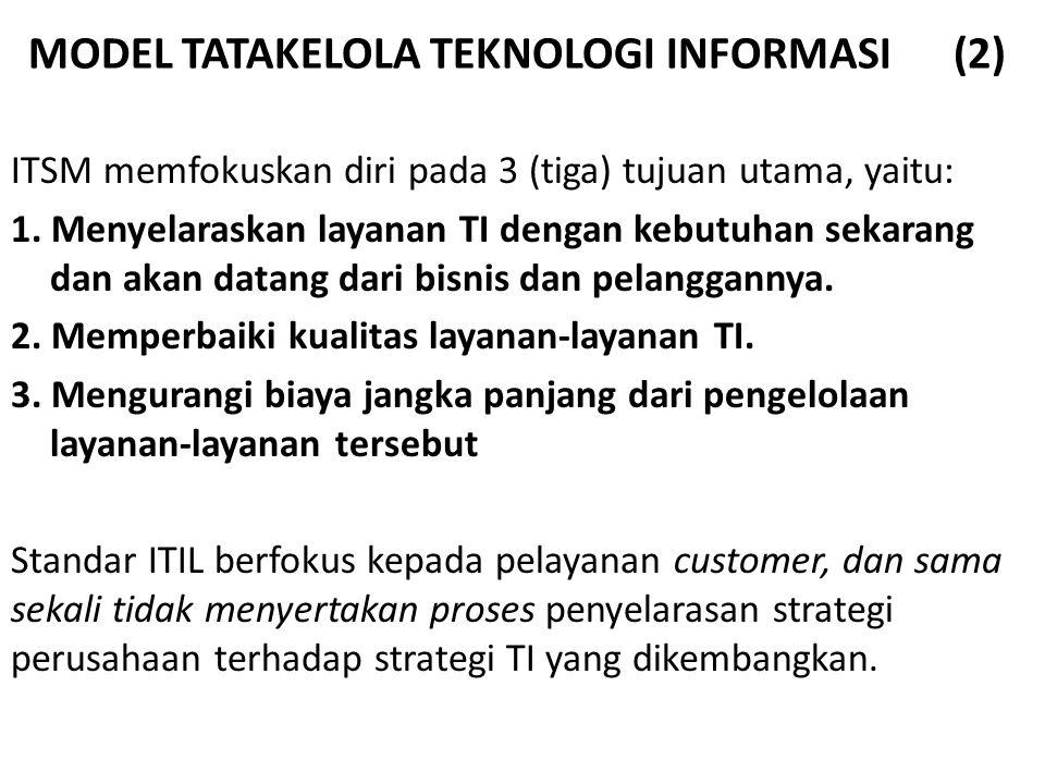 MODEL TATAKELOLA TEKNOLOGI INFORMASI (2)
