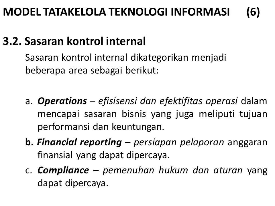 MODEL TATAKELOLA TEKNOLOGI INFORMASI (6)