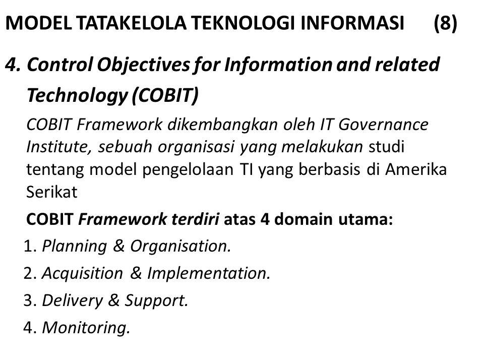 MODEL TATAKELOLA TEKNOLOGI INFORMASI (8)