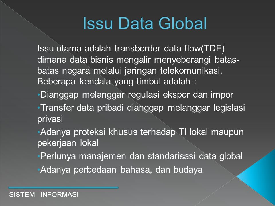 Issu Data Global