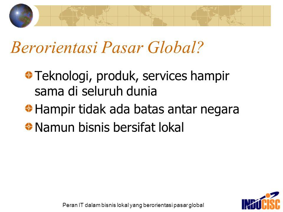 Berorientasi Pasar Global