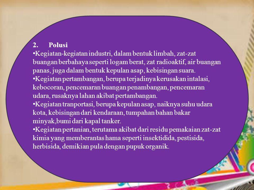2. Polusi