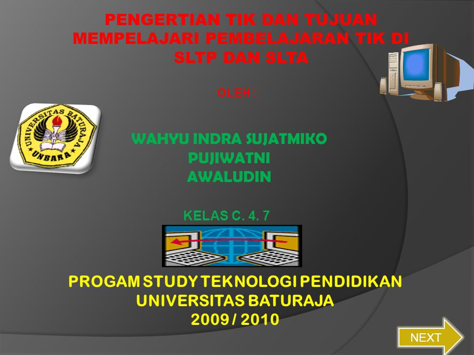 PROGAM STUDY TEKNOLOGI PENDIDIKAN