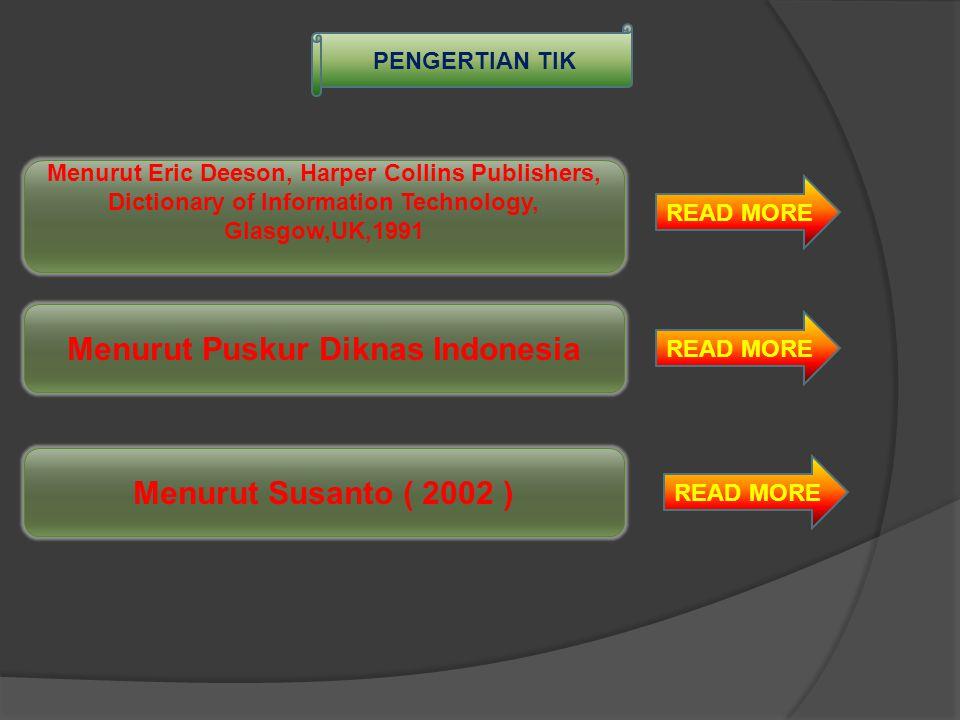 Menurut Puskur Diknas Indonesia