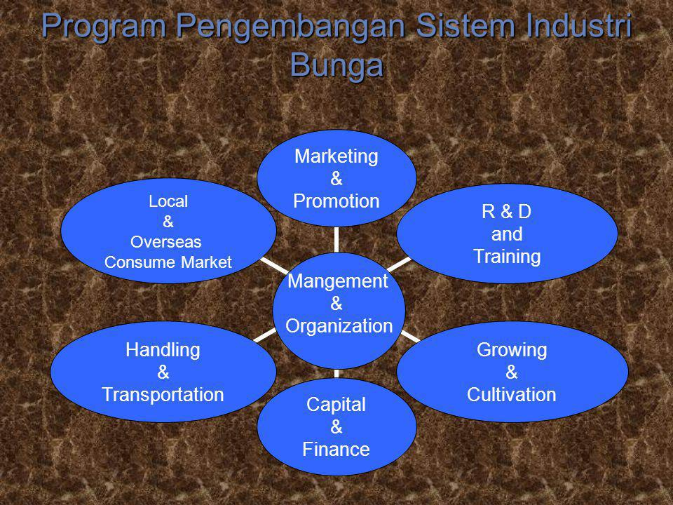 Program Pengembangan Sistem Industri Bunga