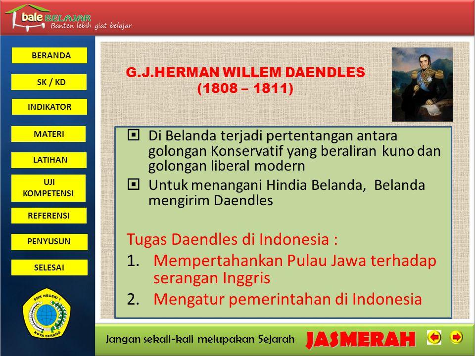 G.J.HERMAN WILLEM DAENDLES (1808 – 1811)