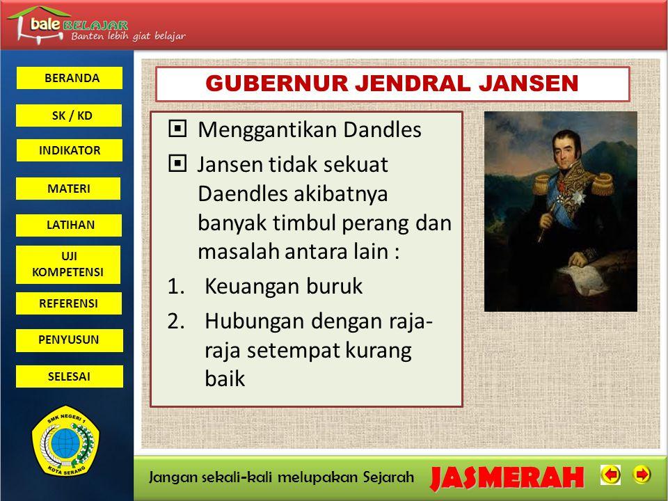 GUBERNUR JENDRAL JANSEN