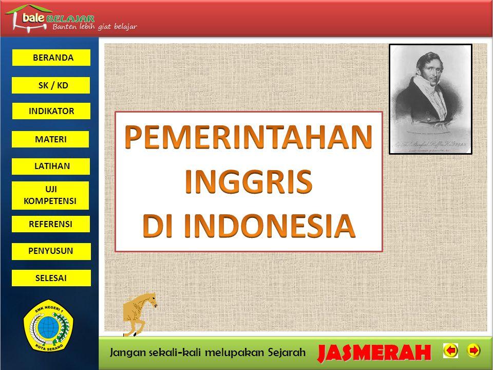 PEMERINTAHAN INGGRIS DI INDONESIA
