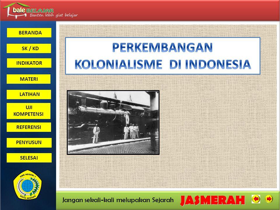 KOLONIALISME DI INDONESIA