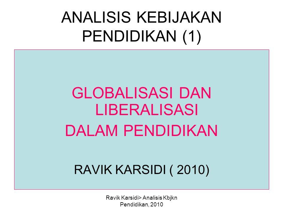 ANALISIS KEBIJAKAN PENDIDIKAN (1)