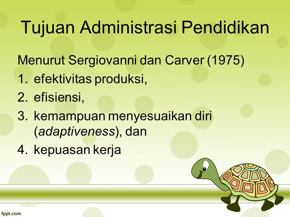 Tujuan Administrasi Pendidikan