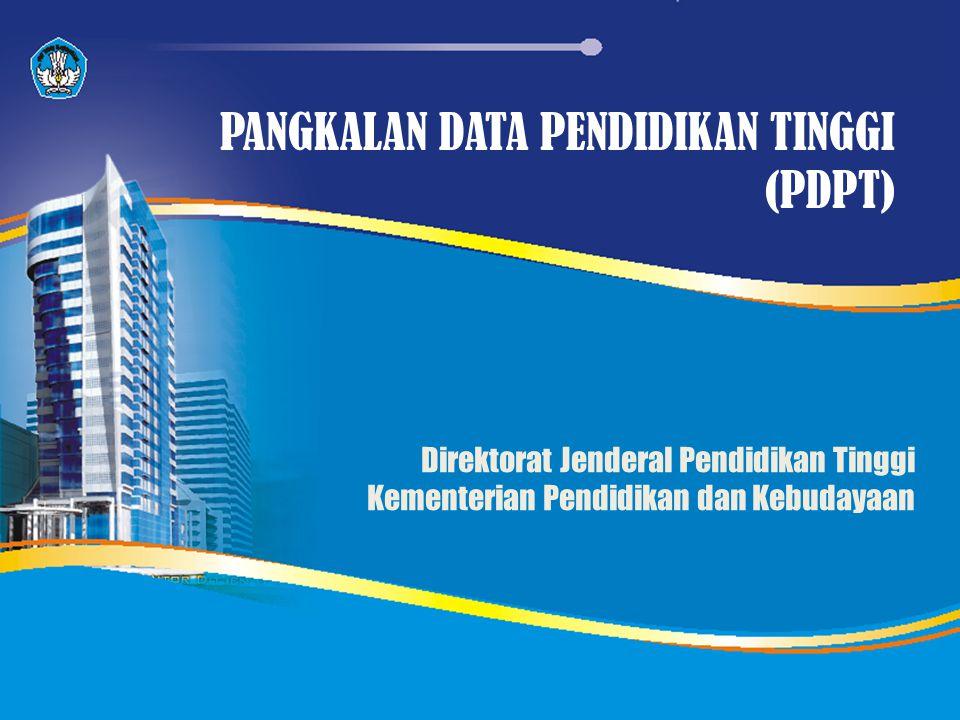 PANGKALAN DATA PENDIDIKAN TINGGI (PDPT)