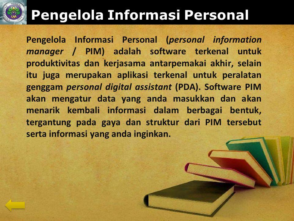 Pengelola Informasi Personal