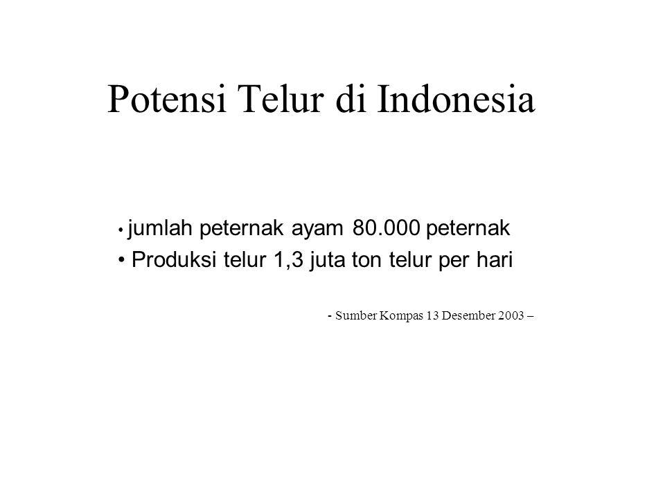 Potensi Telur di Indonesia