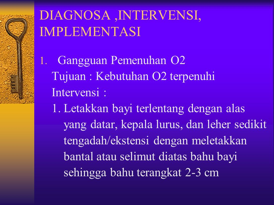 DIAGNOSA ,INTERVENSI, IMPLEMENTASI