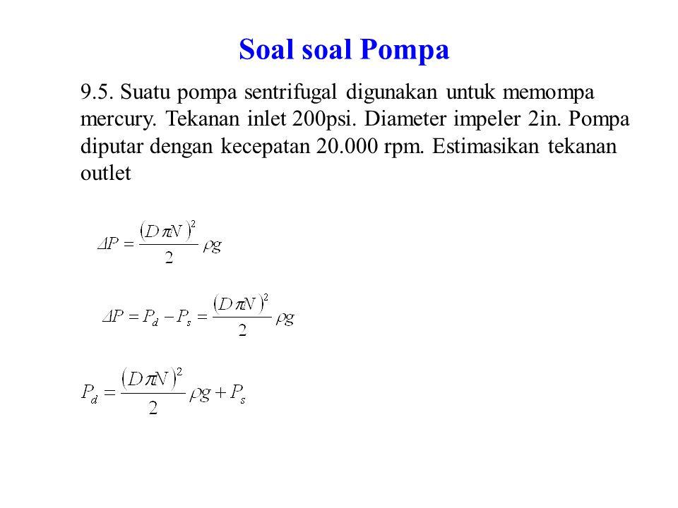 Soal soal Pompa