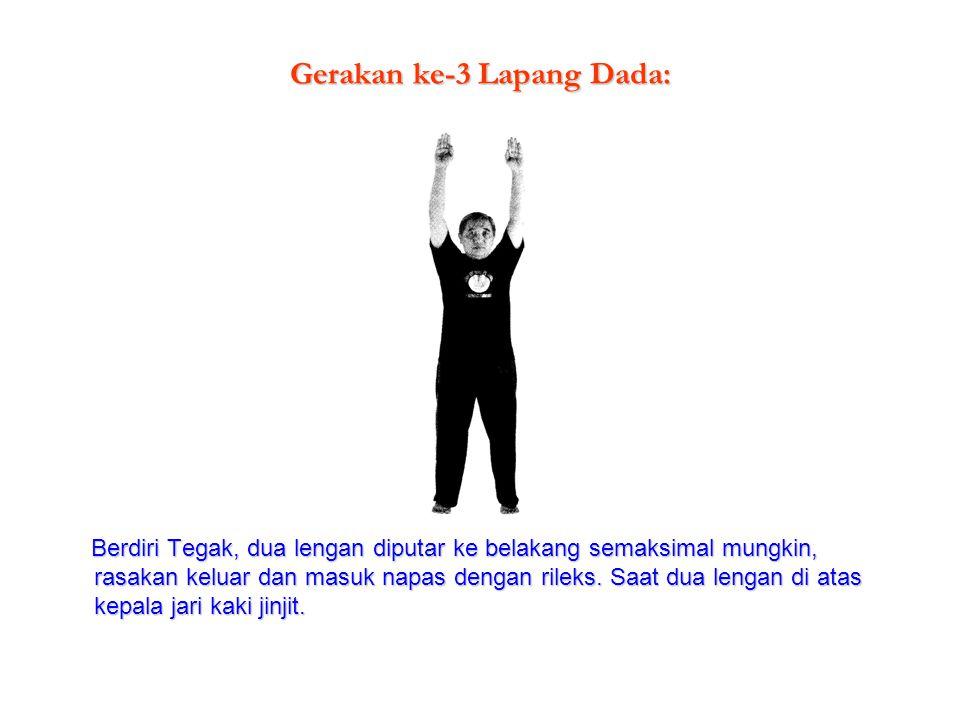 Gerakan ke-3 Lapang Dada: