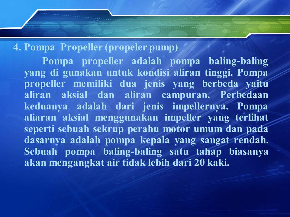 4. Pompa Propeller (propeler pump)