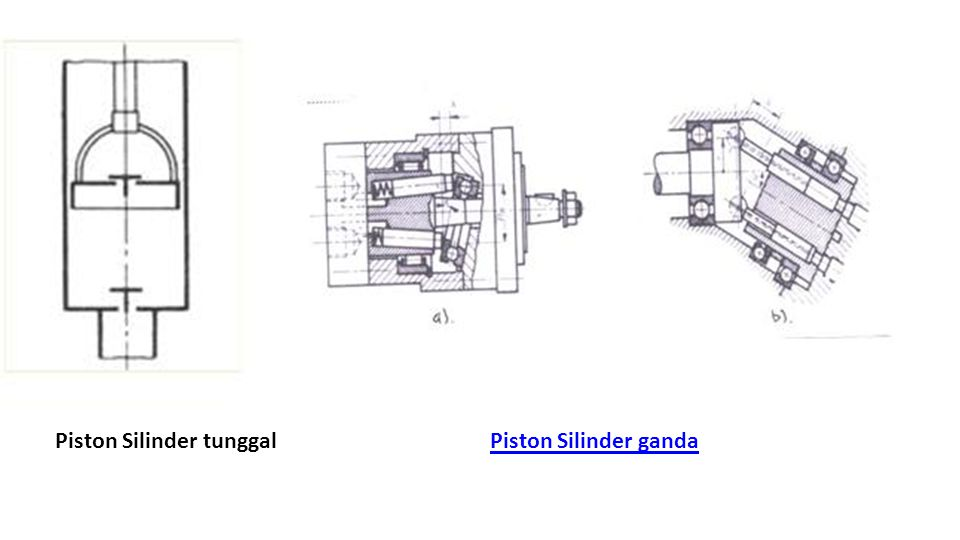 Piston Silinder tunggal