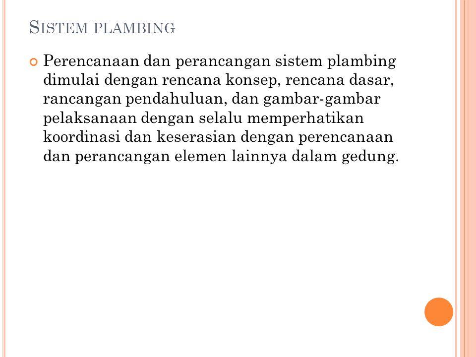 Sistem plambing