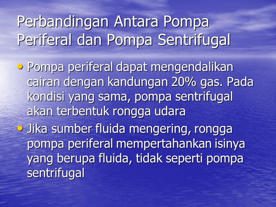 Perbandingan Antara Pompa Periferal dan Pompa Sentrifugal