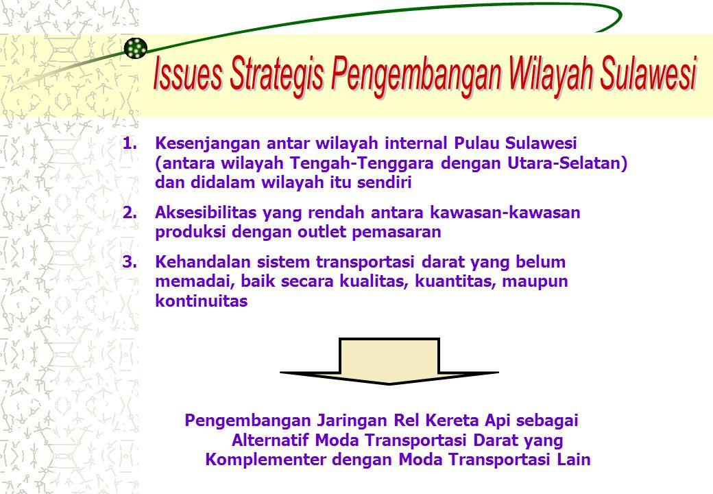 Issues Strategis Pengembangan Wilayah Sulawesi