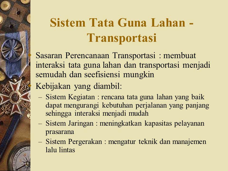 Sistem Tata Guna Lahan - Transportasi