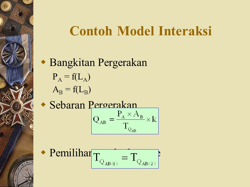 Contoh Model Interaksi