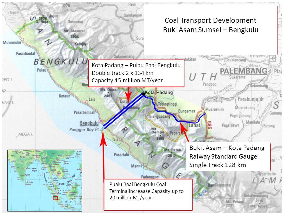 Coal Transport Development Buki Asam Sumsel – Bengkulu