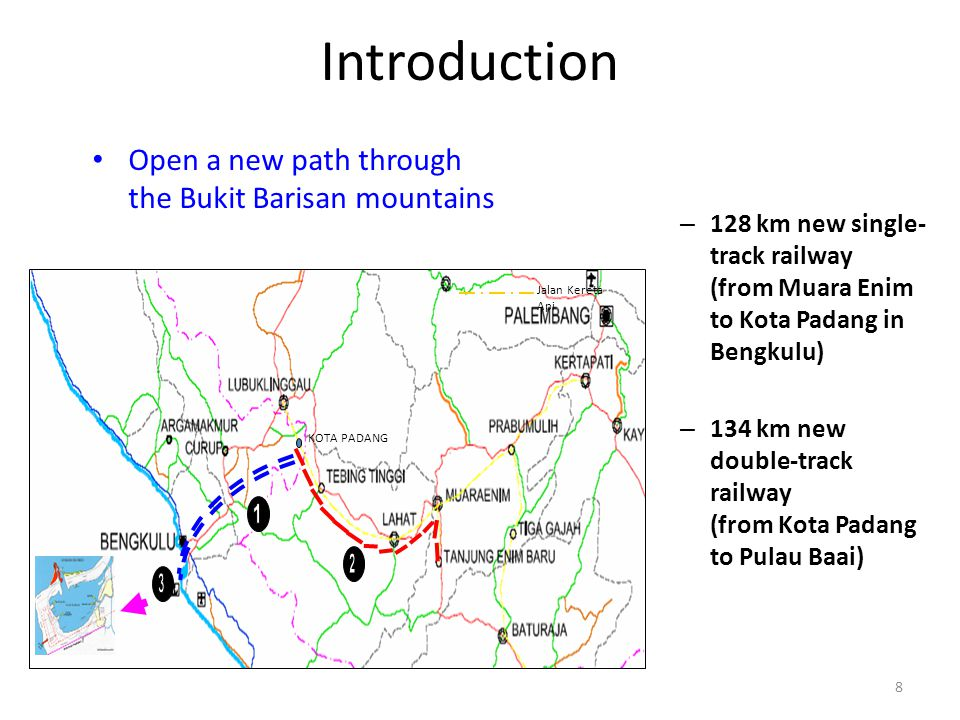 Introduction Open a new path through the Bukit Barisan mountains