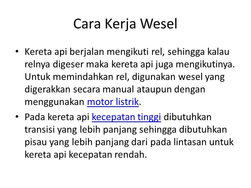 Cara Kerja Wesel