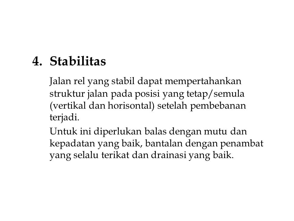 Stabilitas