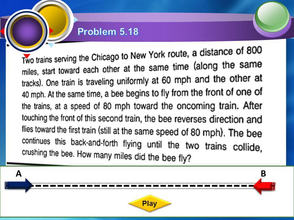Problem 5.18 A B Play