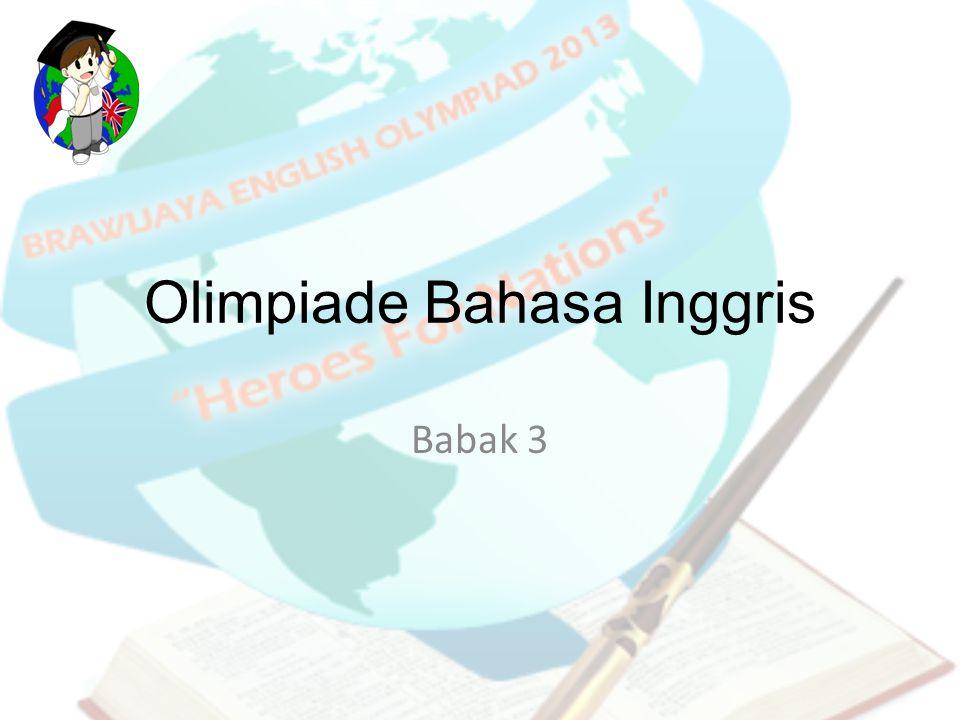 Olimpiade Bahasa Inggris