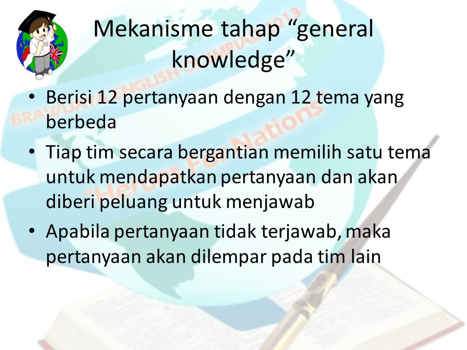 Mekanisme tahap general knowledge