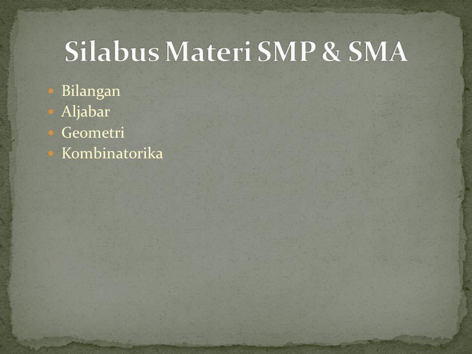 Silabus Materi SMP & SMA