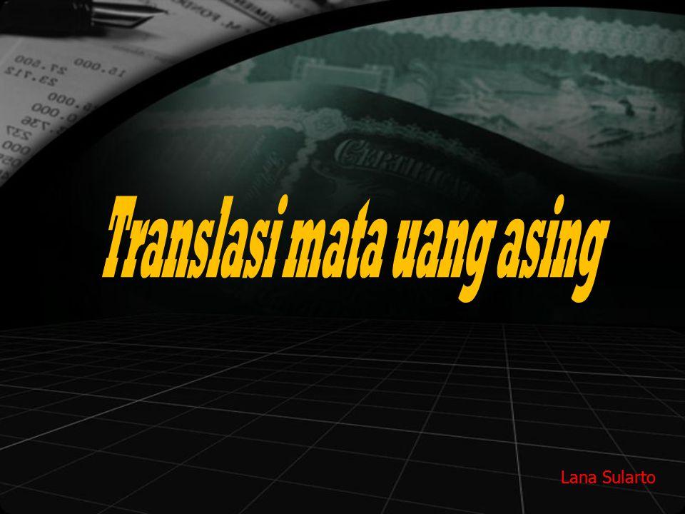 Translasi mata uang asing