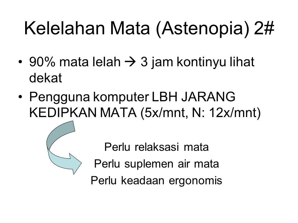 Kelelahan Mata (Astenopia) 2#