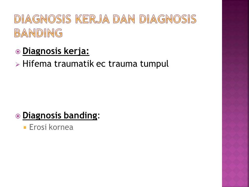 DIAGnosis kerja dan diagnosis banding
