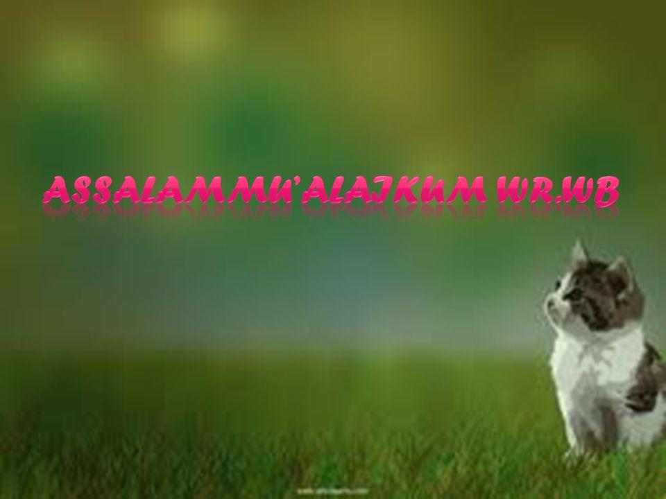 Assalammu'alaikum WR.WB