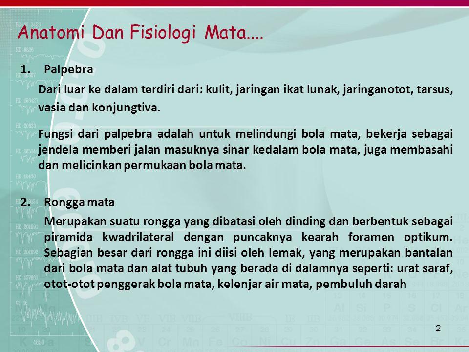Anatomi Dan Fisiologi Mata....