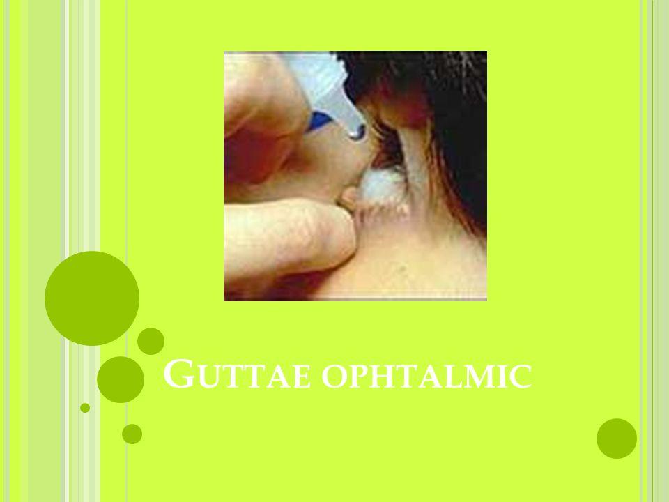 Guttae ophtalmic